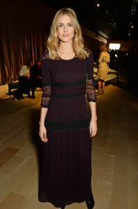 LONDON, ENGLAND - FEBRUARY 22:  Donna Air wearing Burberry at the Burberry Womenswear February 2016 Show at Kensington Gardens on February 22, 2016 in London, England.  (Photo by David M. Benett/Dave Benett/Getty Images for Burberry) *** Local Caption *** Donna Air