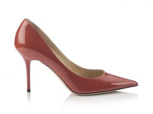 $693 USD AGNES- PATENT LEATHER- AGATE