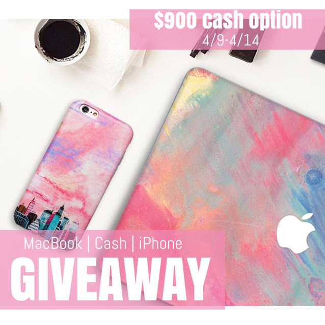 iPhone, Macbook, or $900 PayPal Cash  Winner's Choice Giveaway!